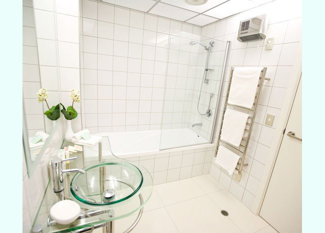 8 x 8 plain white bath tile fuda tile - Plain white tiles bathroom ...